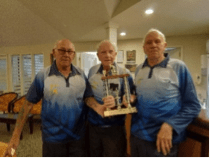 · The Shona McFarlane Challenge was played on 27 January. Our team of Paul, Gordon & Batts won the event – well done guys.
