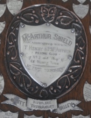The McArthur Henry Shield